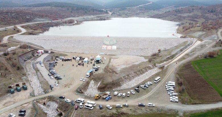 Kütahya'daki Karacakaş Göleti hizmete açıldı