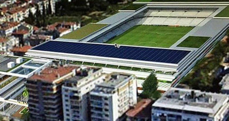 Karşıyaka Stadında  süreç uzuyor