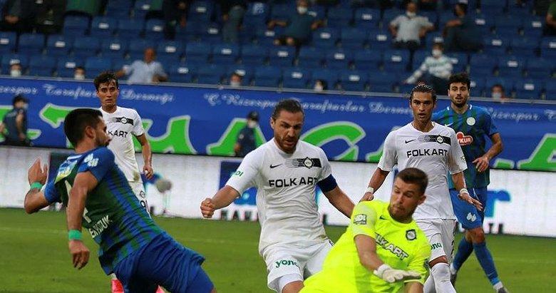 Çaykur Rizespor -  Altay : 1-2 | MAÇ SONUCU