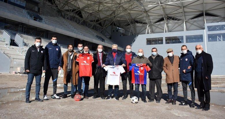 Altınordu'dan Alsancak Stadı'na ziyaret