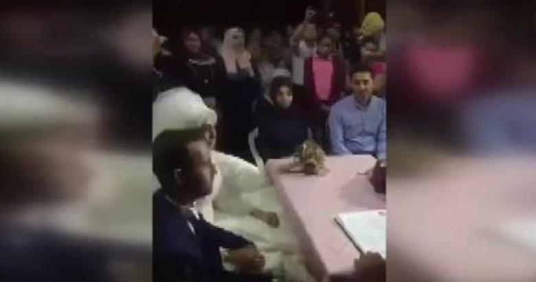 Denizlide nikah memuru gelinin cevabını duyunca düğünü terk etti