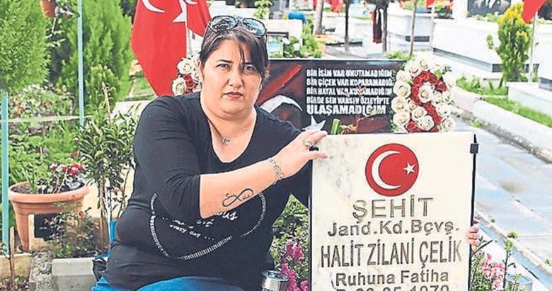 Eşimin katili PKK'ya ve yandaşlarına oy yok