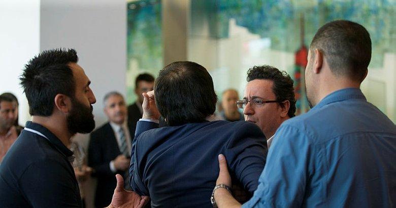 CHP Genel Merkezinde canlı yayında gerginlik