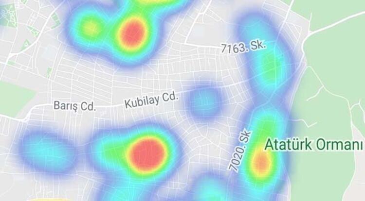 İzmir koronavirüs yoğunluk haritası! İşte ilçe ilçe son durum...