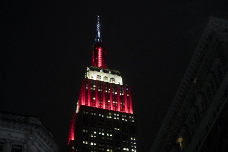 THY sponsor oldu! Empire State Binası kırmızı beyaza büründü