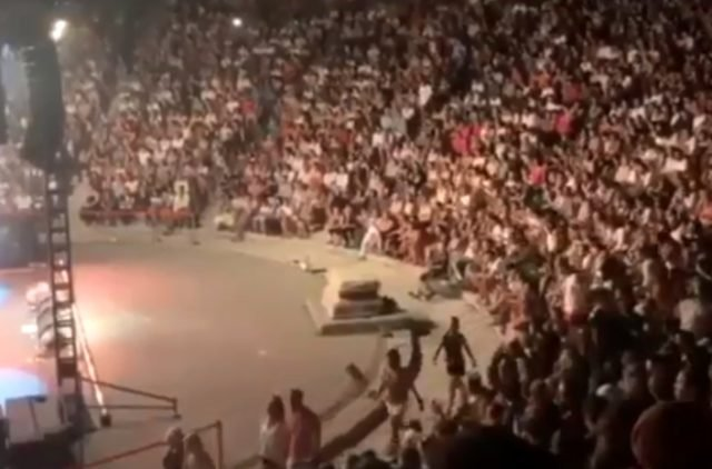 Sıla Nın Bodrum Daki Konserinde Seyirciden şok Tepki