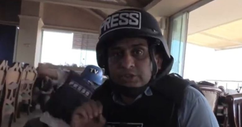 PKK/YPG Kamışlı'dan saldırdı! Teröristler gazetecileri hedef aldı
