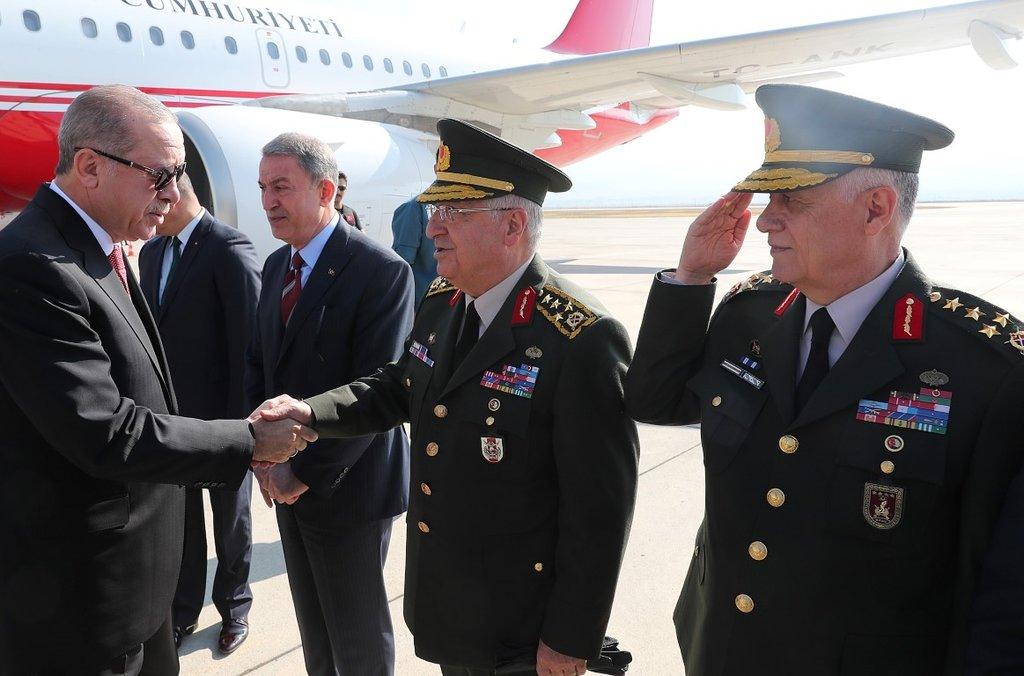 Başkan Erdoğan Komando Bröve Takma Töreni'ne katıldı