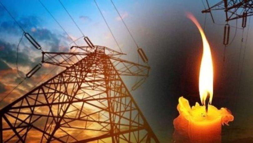 İzmir'de elektrik kesintisi 22 Kasım Pazar!