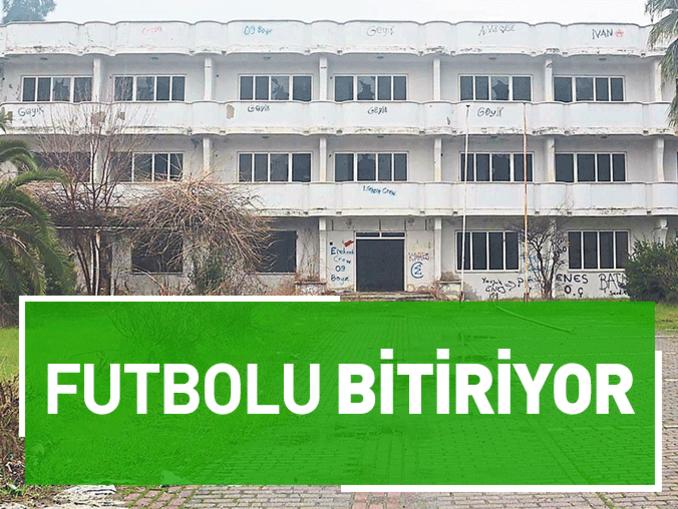 Aydın'da futbolu bitiriyor