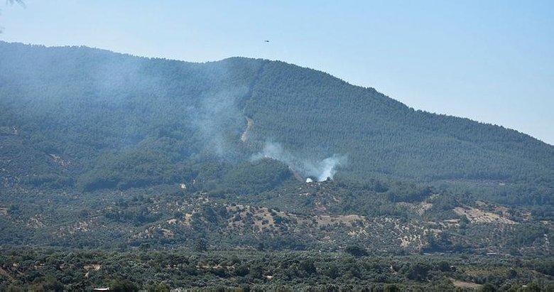 İzmir'in Kemalpaşa ilçesinde çıkan orman yangını kontrol altına alındı