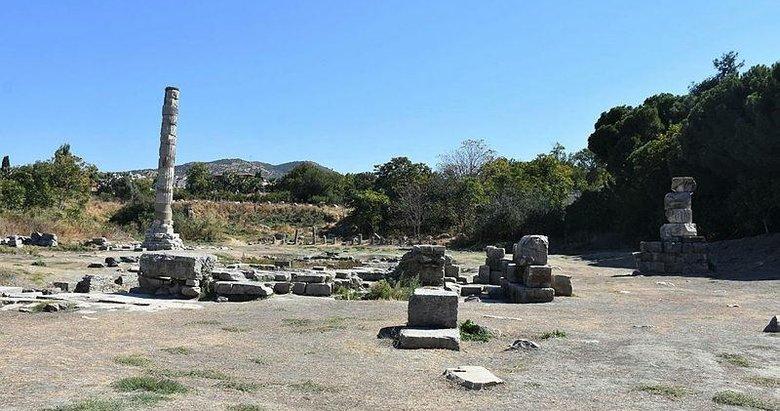 Dünya harikası 'Artemis' tarihi dokusuna kavuşuyor