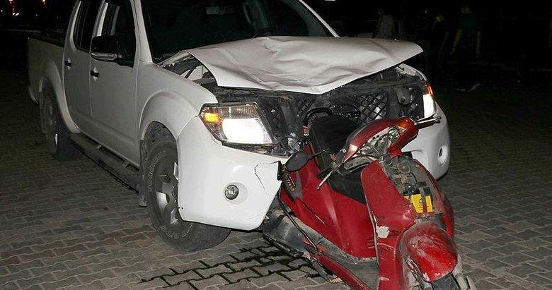 Otomobile ok gibi saplandı! Muğla'da feci ölüm