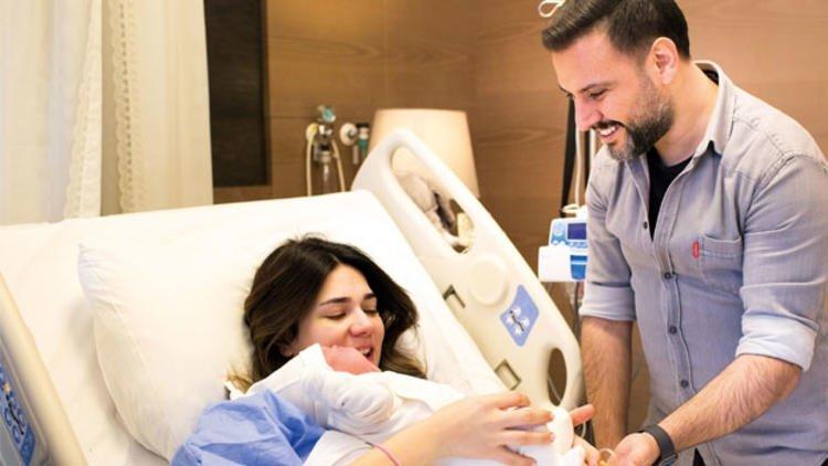 Alişan ve Buse Varol'un bebekleri doğdu