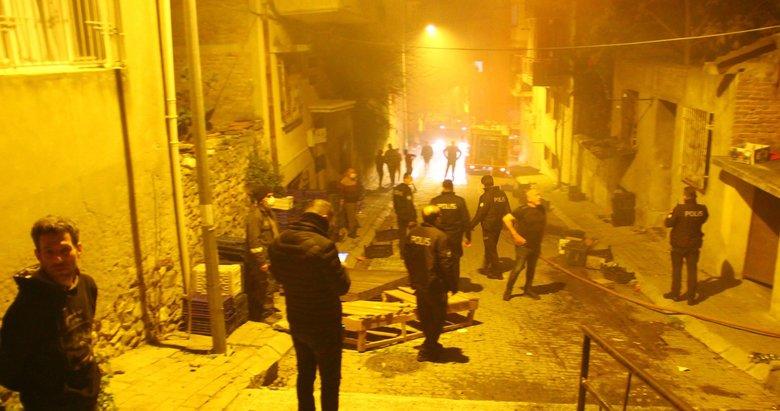 Aydın'da hareketli saatler! Öfkeli şahıs, sokaktaki tüm evleri ateşe verdi