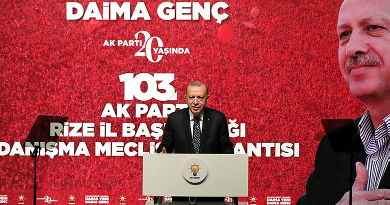 Başkan Erdoğan'dan Rize'de önemli açıklamalar