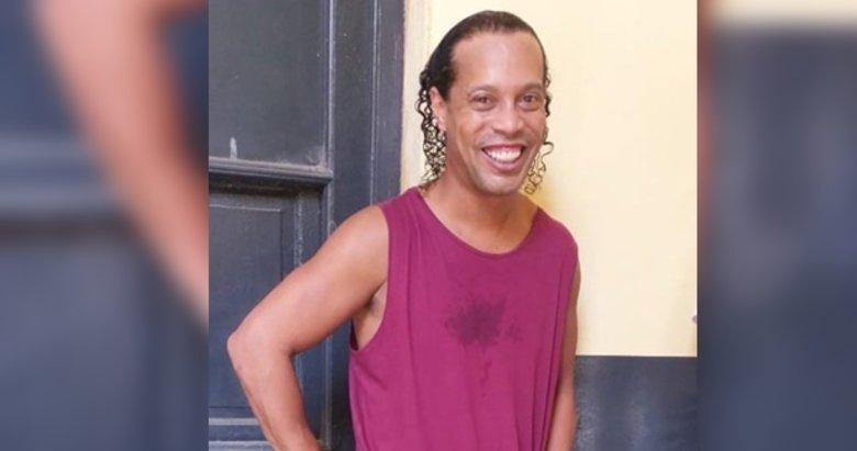 Ronaldinho 6 ay hapis cezası aldı! Ronaldinho'nun hapishaneden ilk görüntüsü geldi