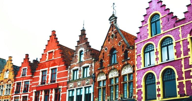 Dünyaya renk veren binalar
