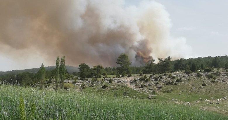 Kütahya'daki orman yangınında son durum ne?