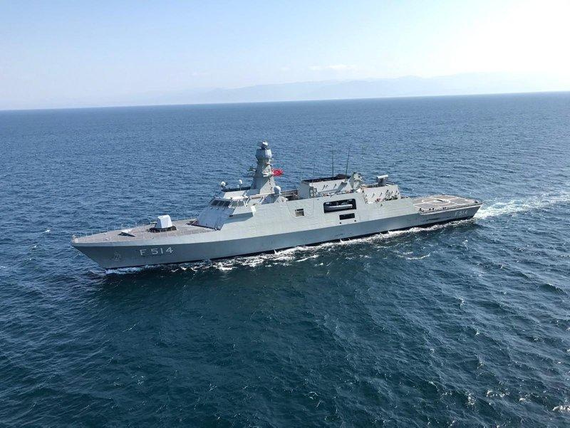 Türkiye'nin denizlerdeki gurur günü! TCG Kınalıada hizmete giriyor