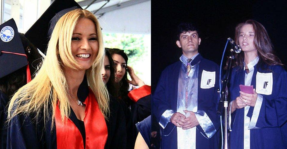 Müge Anlı'nın bu halini kimse bilmiyor! Gören şaşıp kaldı... İşte ünlülerin mezuniyet fotoğrafları...