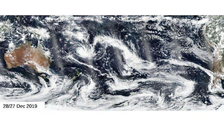 NASA'dan korkutan Avustralya yangını açıklaması! Dumanlar çok yakında...