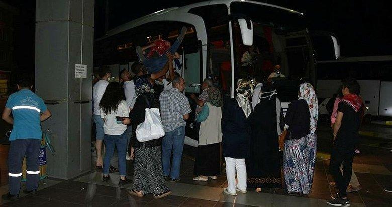 Aydın'da sosyal mesafesiz asker uğurlaması