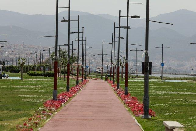 Tam kapanmada İzmir sokakları sakin