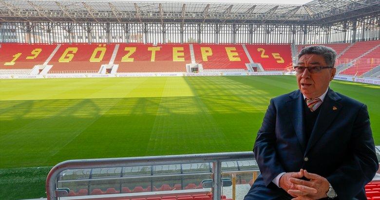 Göztepe'de toprak zeminden Gürsel Aksel Spor ve Sağlıklı Yaşam Merkezi'ne