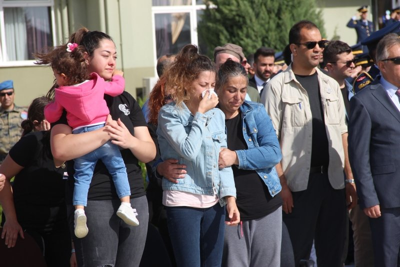 Şehit astsubay Harmankaya'nın cenazesi memleketi İzmir'e uğurlandı!