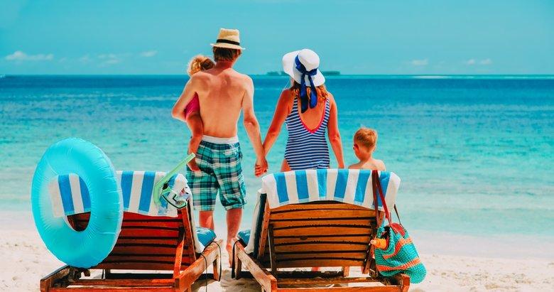 Çocukla tatilin püf noktası