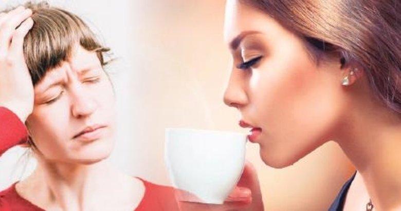 Baş ağrısının ilacı kahve