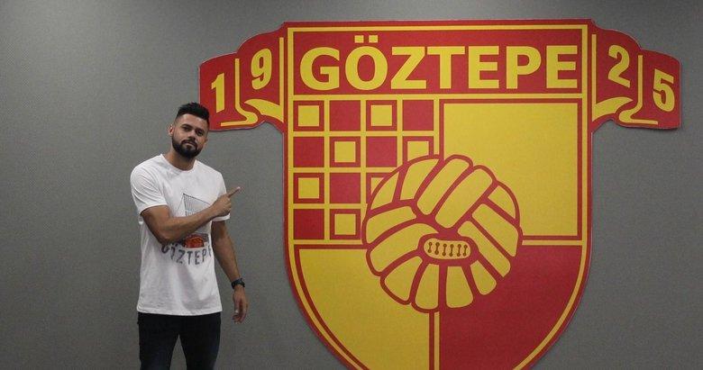Göztepeli futbolcu Lourency: Göztepe formasıyla çok iyi bir sezon geçirmek istiyorum