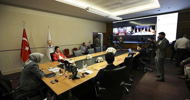 AK Parti ve CHP heyetleri video konferans aracılığıyla bayramlaştı