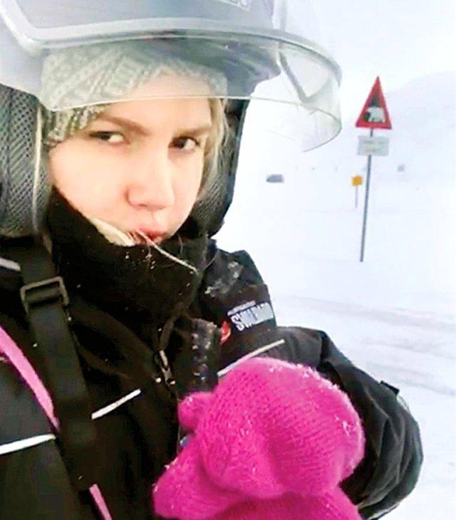 Aleyna Tilki tatil için gittiği Oslo'da kaza geçirdi