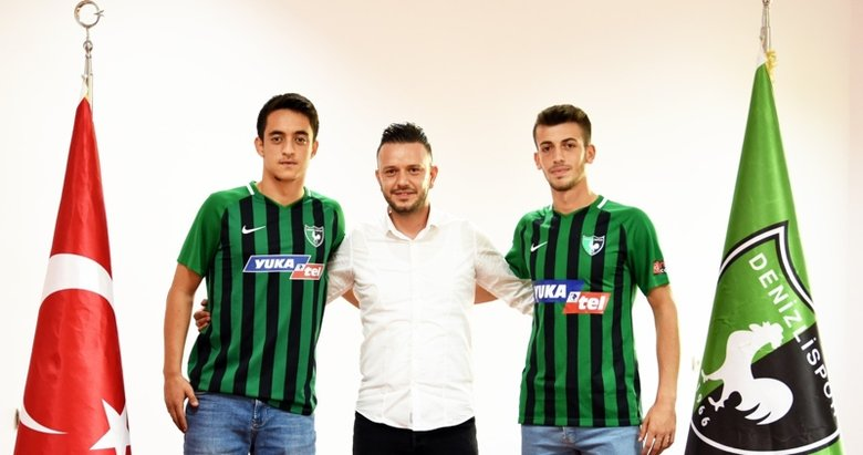 Denizlispor, altyapıdan 2 oyuncuyla daha profesyonel sözleşme imzaladı