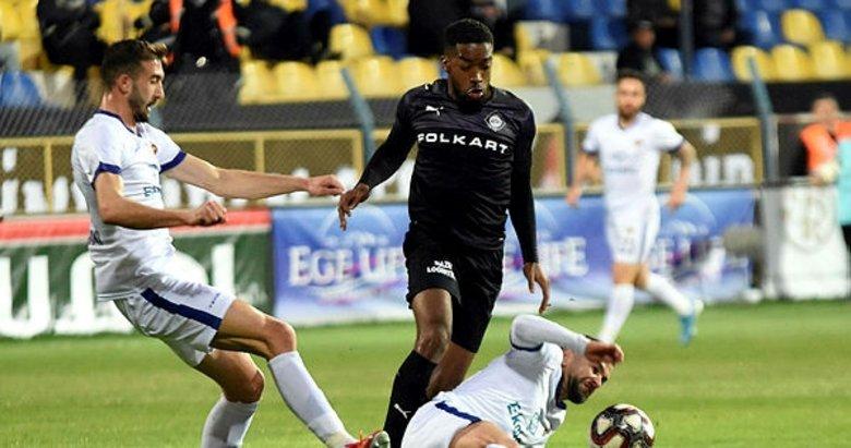 Ekol Göz Menemenspor: 1 - Altay 1 I Maç sonucu