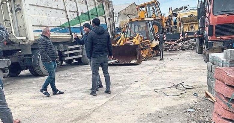 Menemen'in kayıp araçları da şantiyedeymiş
