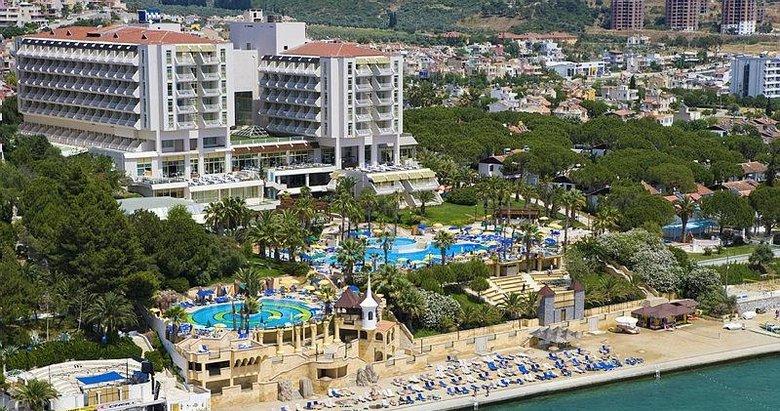 Haluk Ulusoyun Kuşadasındaki 5 yıldızlı oteli icradan satılacak!