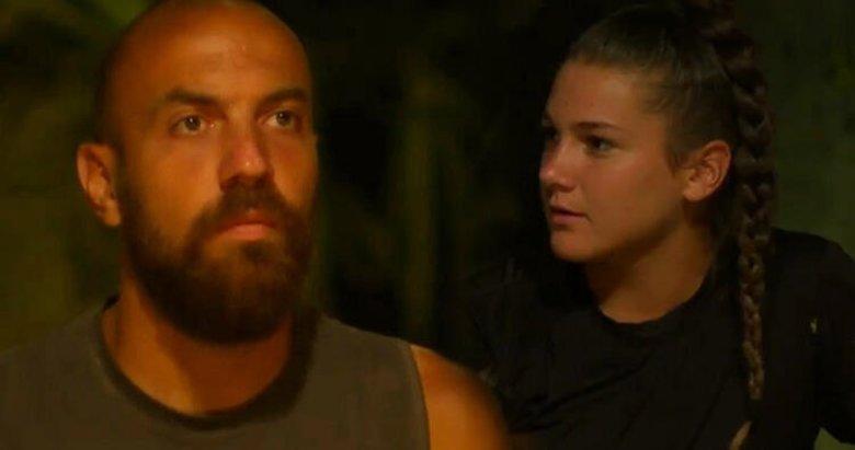 Survivor'da ortalık karıştı! Nisa ve Sercan birbirine girdi