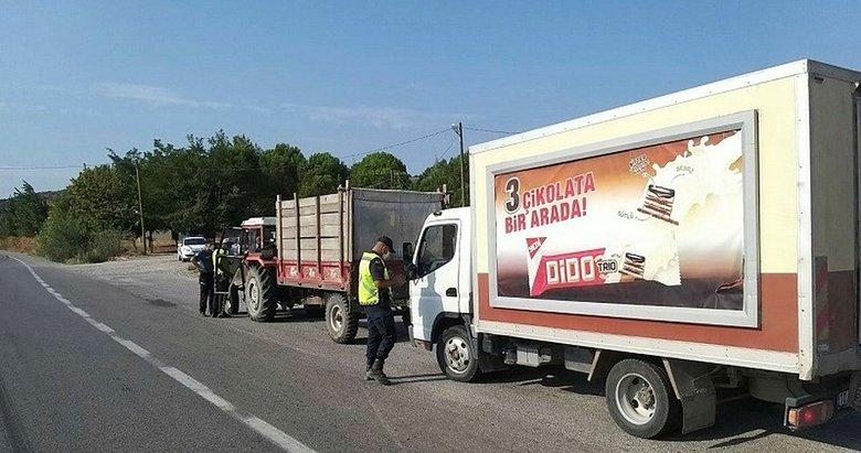 Balıkesir'de kurallara uymayan araç sürücülerine ceza yağdı!