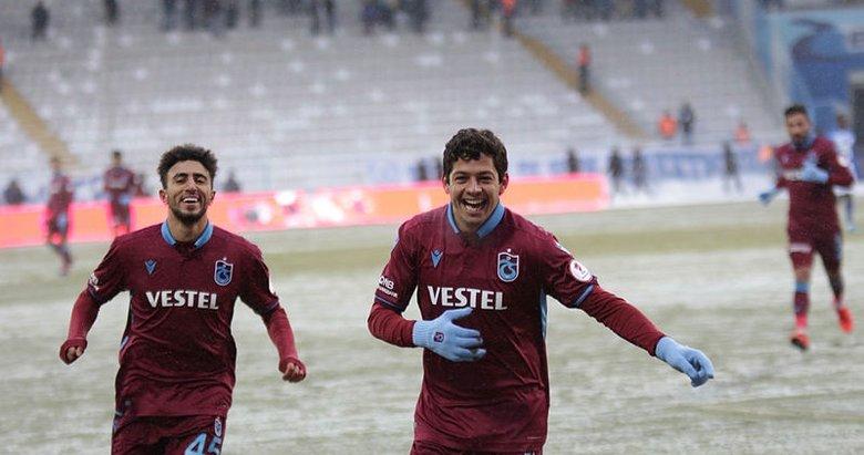 Erzurum'da bol gollü maç! Trabzonspor yarı finalde