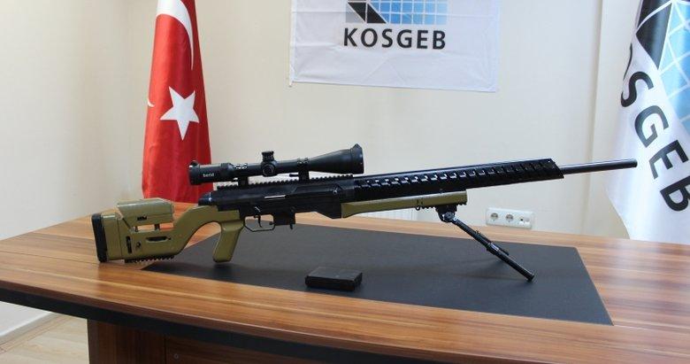 Başkan Erdoğan'ın direktifleriyle yerli 'sniper' üretildi!