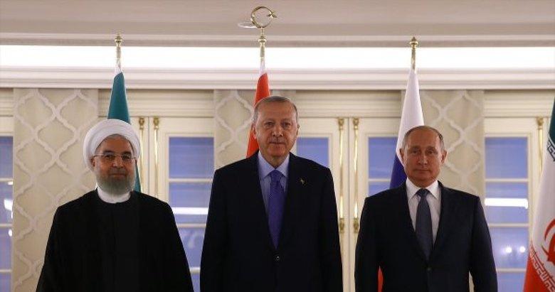 Son dakika: Başkan Erdoğan, Putin ve Ruhani yarın Suriye'yi görüşecek