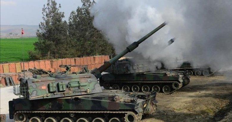 Tel Rıfat'ta PKK/YPG'nin taciz ateşlerine anında karşılık verildi