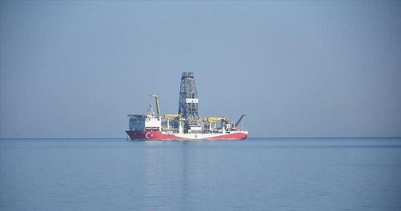 Türkiye'nin ilk yerli sondaj gemisi 'Fatih' Zonguldak açıklarında
