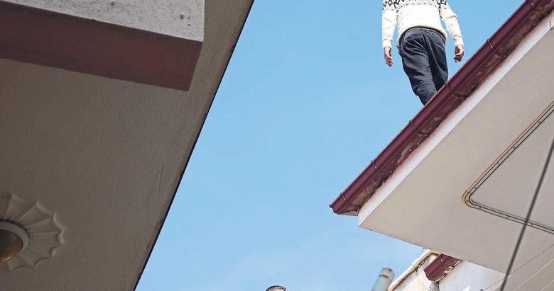 Çatıda dram