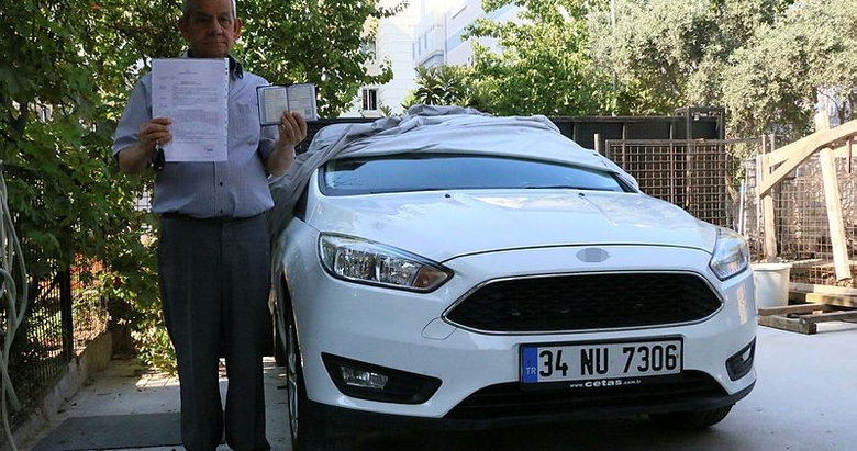 Manisa'da yaşayan bir kişi otomobilinin sahte belgelerle satıldığını öğrendi