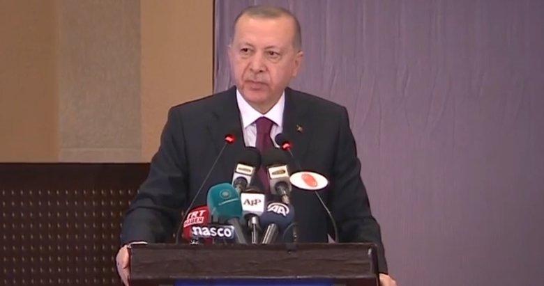 Başkan Erdoğan'dan Pakistan'da önemli açıklamalar