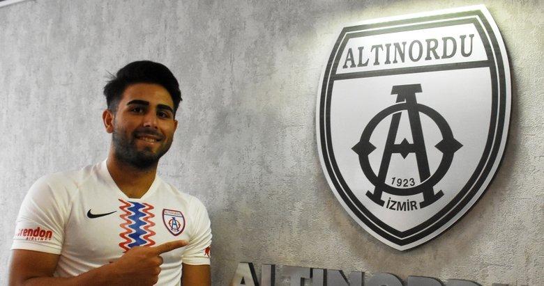 Altınordu, Beşiktaş'tan Oğuzhan'ı kiraladı